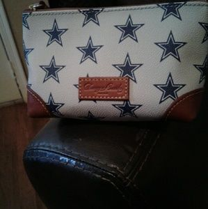 Accessories - Dooney and Bourke Cowboys cosmetic case